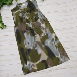 CABI Watercolor Splatter Tunic Top Style#593